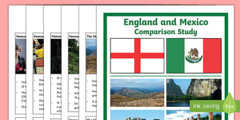 England and Mexico Comparison Study Research Booklet