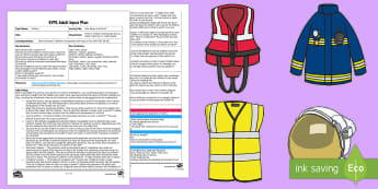 EYFS Who Wears a Uniform? Adult Input Plan and Resource Pack - Clothes,  Understanding the World, People and Communities, Jobs, Occupations, People who Help Us, Fo