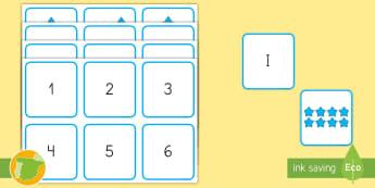 Tarjetas de emparejar: Los números romanos - numeración, romana, parejas, cifras, ordenar, mates, matemáticas,Spanish