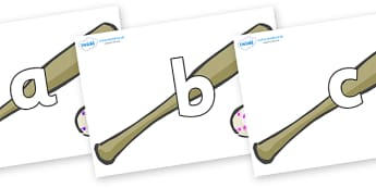 Phoneme Set on Bat and Balls - Phoneme set, phonemes, phoneme, Letters and Sounds, DfES, display, Phase 1, Phase 2, Phase 3, Phase 5, Foundation, Literacy