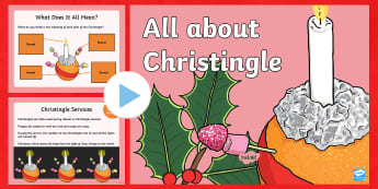 KS1 All About Christingle PowerPoint -  advent, advent sunday, christmas, first day of christmas, festive