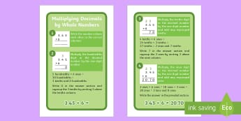 Y6 Multiplying Decimals by Whole Numbers IKEA Tolsby Frame  - formal written method, multiplication method, multiplication strategies, decimal numbers, multiply d