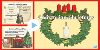 A Victorian Christmas PowerPoint - History of Christmas, Queen Victoria, Prince Albert, Christmas traditions, Victorian Traditions