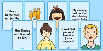 Social Situation: New Sibling - social story, new sibling, social, story, new, sibling