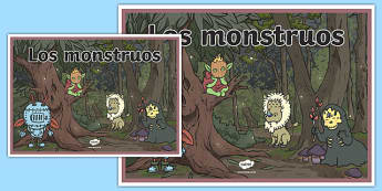 Cartel Los monstruos
