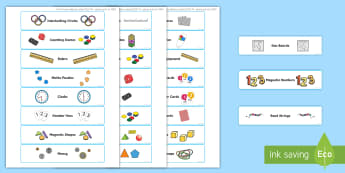 Maths Resource Stickers - maths, resource, editable, labels, blue, editable labels,