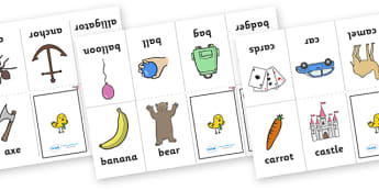 My 'a-z' Mini Book - ESL Alphabet Resources