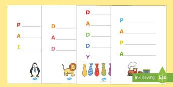 Father's Day Acrostic Poem English/Portuguese - Fathers Day 'Daddy' Acrostic Poem Templates - fathers day, fathers day acrostic poem, fathers day