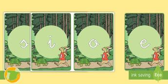 Tarjetas de fonemas: La liebre y la tortuga - lengua, letras, lectoescritura, sonidos, cuentos tradicionales, cuentos con valores