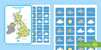 * NEW * Weather Forecasting Role-Play Pack - English/Spanish - Weather Forecasting Role Play Pack - Weather display, Weather role play, KS1, display banner, Weathe