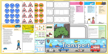 Childminder Travel and Transport EYFS Resource Pack - Transport and Travel, child minders, childminding, cars, bus, train, things that go,