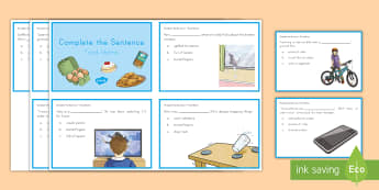 Food Idioms Complete the Sentence Cards - idioms, task cards, Language, Figurative Language, complete the sentence, context clues