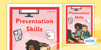 Computing: PowerPoint Presentation Skills Year 2 Unit Book Cover