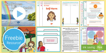 Free Twinkl Life Taster Children's Mental Health Week Resource Pack - Wellbeing, Well-being, Growth Mindset, Positive Thinking, Mindfulness, Yoga, Being Unique