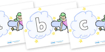 Phoneme Set on Fairies (Plain) - Phoneme set, phonemes, phoneme, Letters and Sounds, DfES, display, Phase 1, Phase 2, Phase 3, Phase 5, Foundation, Literacy