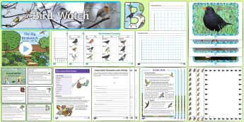 KS2 Bird Watch Resource Pack - KS1 & 2 RSPB Big School's Birdwatch (3 Jan-17 Feb 2017), RSPB, school, bird, bird watch, birdwatchi