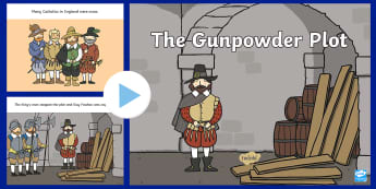 Guy Fawkes Story PowerPoint - Bonfire, Night, Key Stage One, Presentation, Classroom, Guido Fawkes