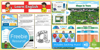 Free English and German Taster Resource Pack - Freebie, Sample, Taste, Test, Tester, Try, Bumper, Learning