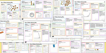 Year 4 Summer Maths Activity Mats