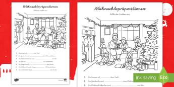 Funky Weihnachten Mathe Arbeitsblatt Jahr 1 Crest - Mathe ...