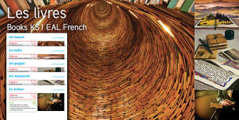 Imagine Books KS1 Resource Pack French - Book, Setting, Read, Manuscript, Tunnel, Reader, Reading, Parcel, EAL