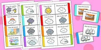 Weather Loop Cards - weather, loop cards, loop, cards, activity