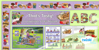 PlanIt French: That's Tasty!: Year 5 Additional Resources - french, languages, grammar, food, drink, breakfast, sandwiches, pizza