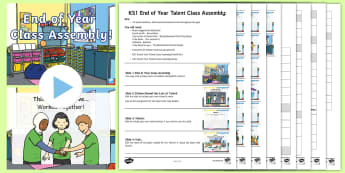 KS1 End of Year Talent Class Assembly Pack