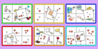 Supermarket Vocabulary Bingo - ESL Vocabulary Resources
