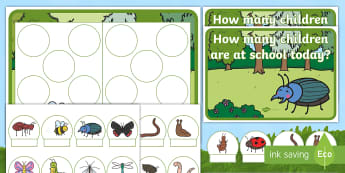Minibeast Editable Self-Registration Hungarian Number Picture Resource Pack - Minibeasts, bugs, butterfly, caterpillar, spider, Ten Frame, Maths Mastery, Counting, Number, Calcul