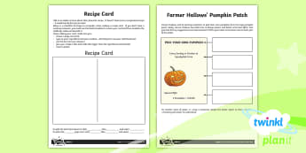 Computing: Word Processing: Year 4 Home Learning Tasks - Font, image, insert, format, recipe, poster