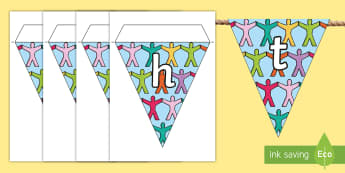 Rights Respecting School Display Bunting - Rights Respecting School, UNICEF, Rights of a child, bunting, display, hwb, RRSA, UNCRC,Scottish