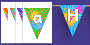 Australia Happy New Year Display Bunting -  display bunting, happy new year, new year, classroom decorations