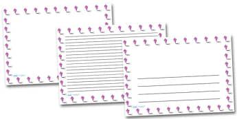 Kite Landscape Page Borders- Landscape Page Borders - Page border, border, writing template, writing aid, writing frame, a4 border, template, templates, landscape