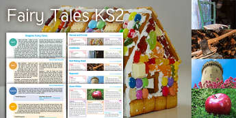 Imagine Fairy Tales KS2 Resource Pack - Hansel, Gretel, Goldilock, Red Riding Hood, Rapunzel, Snow White, Fairy Tale, Story