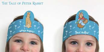 The Tale of Peter Rabbit Role-Play Headbands - peter rabbit
