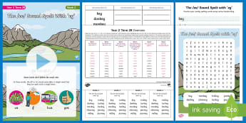 Year 2 Term 2B Week 2 Spelling Pack - Spelling Lists, Word Lists, Spring Term, List Pack, SPaG, spelling homework, spelling test