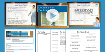 The Holy Trinity Lesson Pack - Christian; God; Trinity; Jesus; Son of God; Holy Spirit; God the Father