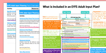 EYFS Adult Input Planning and Resource Pack Overview to Support Teaching on The Jolly Christmas Postman - EYFS, Early Years, planning, The Jolly Christmas Postman, Janet and Allan Ahlberg, Christmas