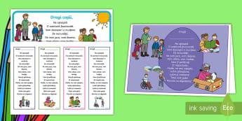 Poezie pentru început de an școlar Pachet cu materiale - poezie, casa pregătitoare, clasa I, prima zi de școală, începerea școlii, prima zi, începe șc