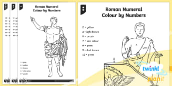 PlanIt Maths Y5 Number and Place Value Roman Numerals Home Learning Tasks
