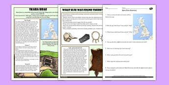 Skara Brae Differentiated Reading Comprehension Activity - skara brae, comprehension