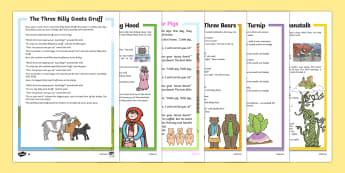 Reading Comprehension Worksheets - KS1