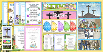 Easter Themed Intergenerational Toddler Singing Group Resource Pack - Intergenerational Ideas, Easter, singing, ideas, support, activities, care givers, activity coordina