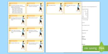 Netball: Quiz Cards - Invasion Game, Winter, Team, Quiz,