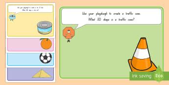 3D Shapes Playdough Mats - New Zealand, maths, playdough, mats, playdough mats, shapes, 3D shapes