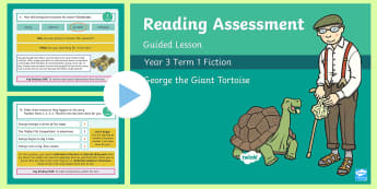 Year 3 Reading Assessment Fiction Term 1 Guided Lesson PowerPoint - Year 3, Year 4 & Year 5 Reading Assessment Guided Lesson PowerPoints, KS2, reading, read, assessment