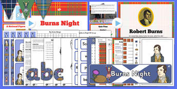 Burns Night Resource Pack - burns, night, resource, pack