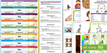 EYFS Toys Themed lesson Plan Enhancement Ideas and Resources Pack - planning, toys activities, foundation toys, early years, reception toys, nursery toys, continuous provision, early years planning, adult led, toy shop, teddy bear