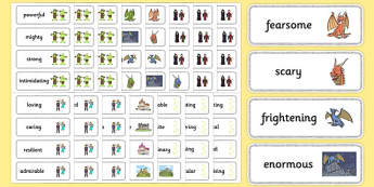 Wow Words & Adjectives Primary Resources